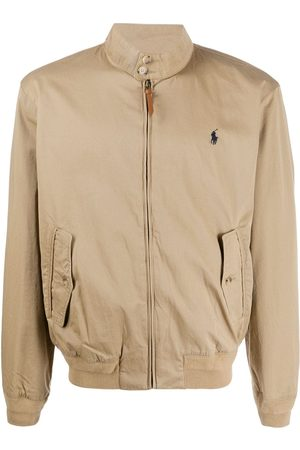 Polo Ralph Lauren Logo embroidered bomber jacket
