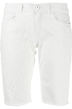 Mr & Mrs Italy Embroidered detail knee-length shorts