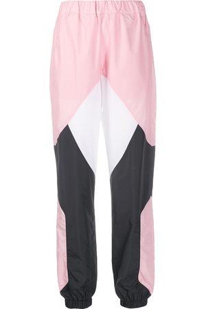 Kirin Panelled colour-blocked track pants