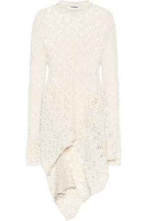 Jil Sander Crochet cotton top
