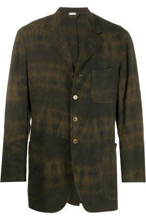 ROMEO GIGLI 1990s bleached tie-dye overshirt