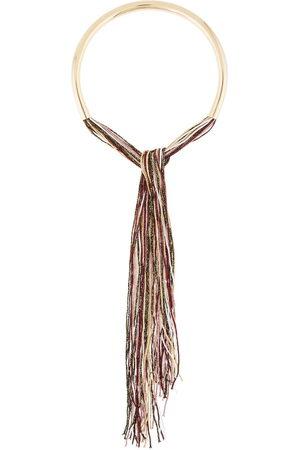 Missoni Metallic fringed necklace