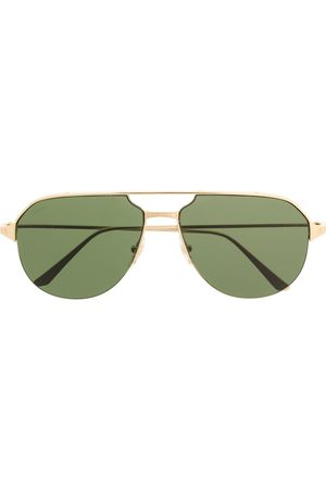 CARTIER EYEWEAR Double bridge aviator sunglasses
