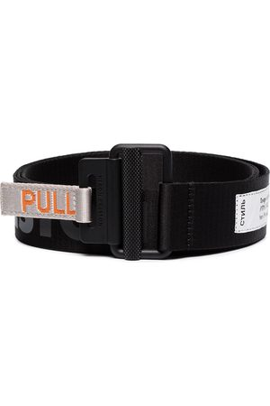 Heron Preston Tape logo belt