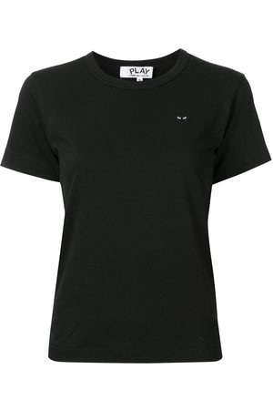 Comme des Garçons Women Short Sleeve - Logo-patch T-shirt