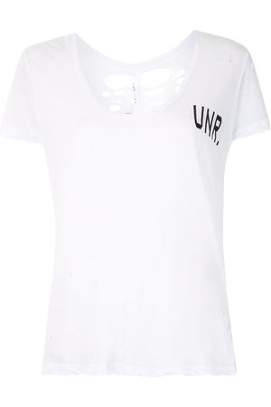 UNRAVEL Photographic-print branded T-shirt