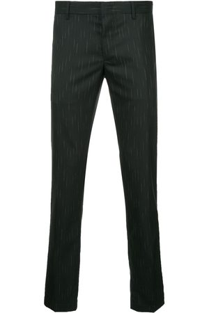 Lanvin Micro-print tailored trousers