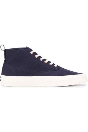 Maison Kitsuné Contrast hi-top sneakers