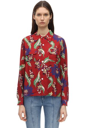 RE/DONE Printed Crepe Shirt