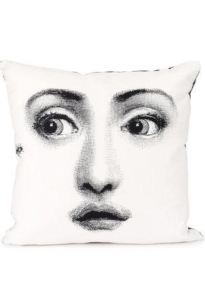 FORNASETTI Face print pillow