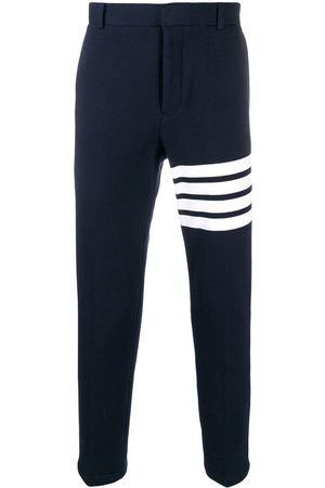Thom Browne Men Chinos - 4-Bar unconstructed chino trousers