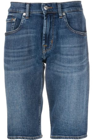 7 for all Mankind Fitted denim shorts