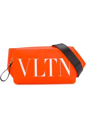 VALENTINO VLTN fluorescent leather belt