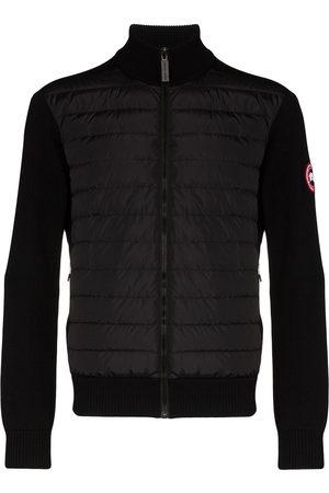 Canada Goose Men Jackets - Hybridge wool-panelled padded jacket
