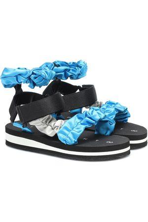 Midnight 00 Exclusive to Mytheresa – Satin sandals