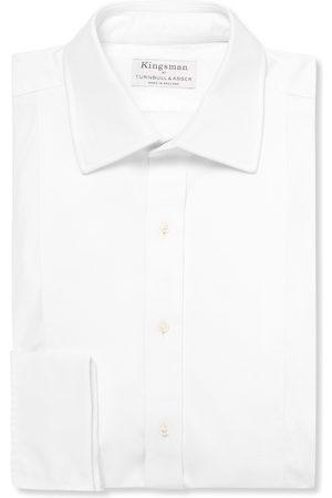 KINGSMAN Men Business - + Turnbull & Asser Bib-front Cotton Tuxedo Shirt