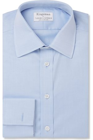 KINGSMAN + Turnbull & Asser White Double-cuff Cotton-twill Shirt