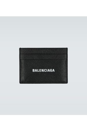 Balenciaga Cash leather card holder