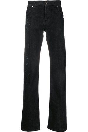 Gianfranco Ferré 1990s patch appliqué straight-fit jeans