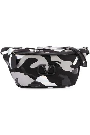 VALENTINO Garavani VLOGO camouflage belt bag
