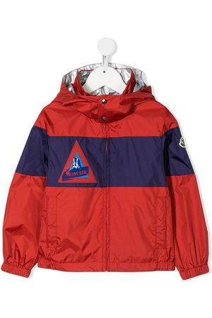 Moncler Colour block shell jacket
