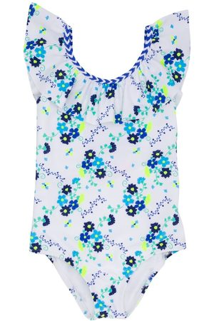 SUNUVA Girls Bodysuits & All-In-Ones - Floral printed one piece