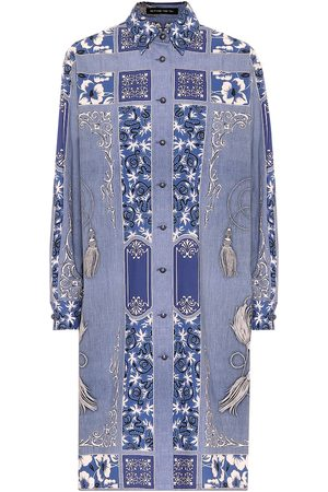 Etro Printed cotton shirt dress
