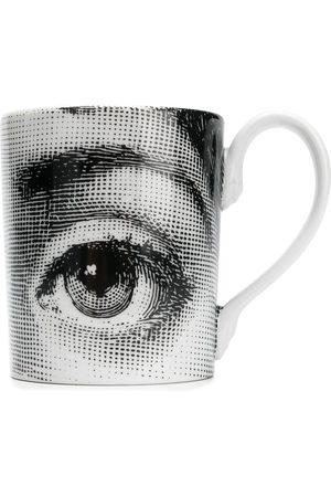 FORNASETTI Printed mug
