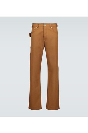 Bottega Veneta Cotton straight-leg pants