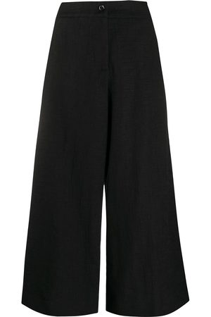 La DoubleJ High-waisted wide leg trousers