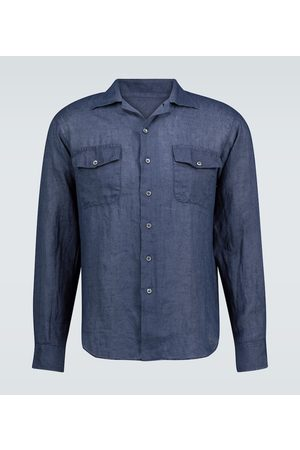 THE GIGI Araki long-sleeved linen shirt