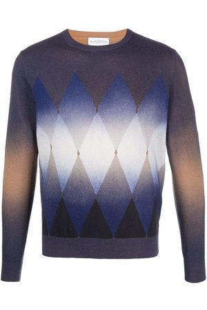 BALLANTYNE Argyle knit jumper