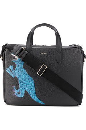 Paul Smith Dinosaur print laptop bag