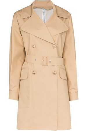 Moncler Women Trench Coats - Belted trench coat