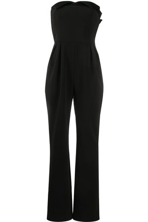 Moschino Women Jumpsuits - Strapless pleated jumpsuit