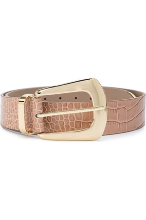 B-Low The Belt Embossed croc-effect belt