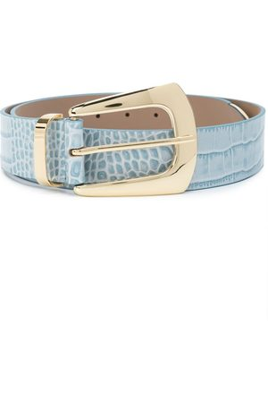 B-Low The Belt Embossed crocodile-effect belt