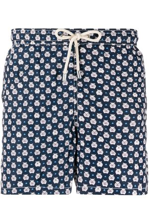 MC2 SAINT BARTH Piggy-print swim shorts