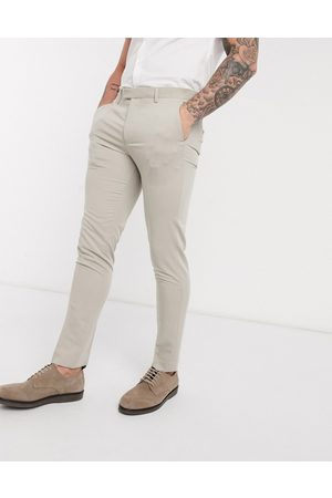 Jack & Jones Premium super slim stretch suit trousers with recycled polyester in