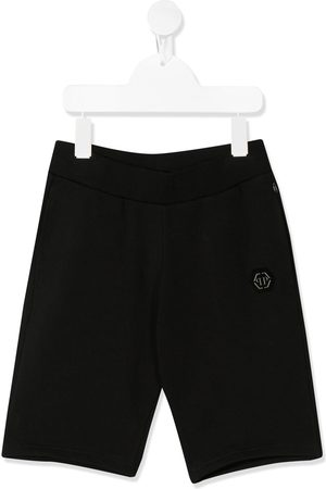 Philipp Plein Embroidered logo bermuda shorts