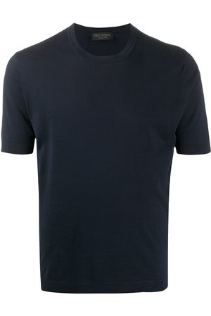 DELL'OGLIO Crew neck cotton T-shirt