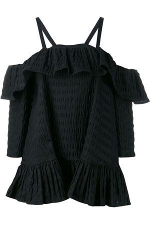 HENRIK VIBSKOV Cold-shoulder ruffled blouse