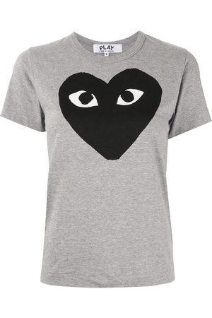 Comme des Garçons Women Short Sleeve - Logo-print T-shirt
