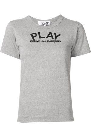 Comme des Garçons Women Short Sleeve - Logo print relaxed fit T-shirt