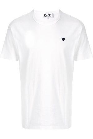 Comme des Garçons Men Short Sleeve - Embroidered logo T-shirt