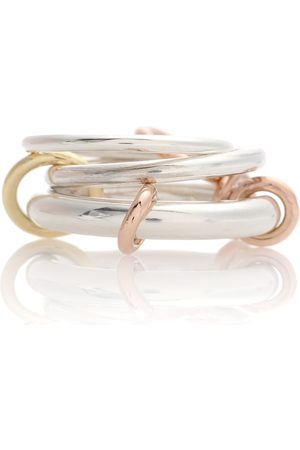 SPINELLI KILCOLLIN Orion sterling and 18k gold linked rings