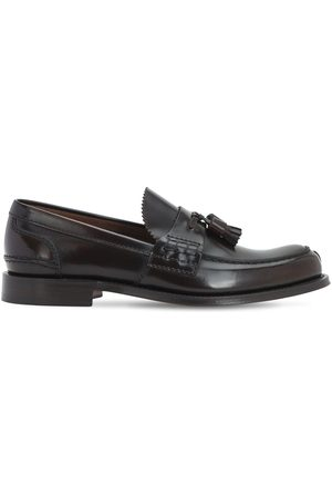 Church's Men Loafers - Binder Fumè Glossy Leather Loafers