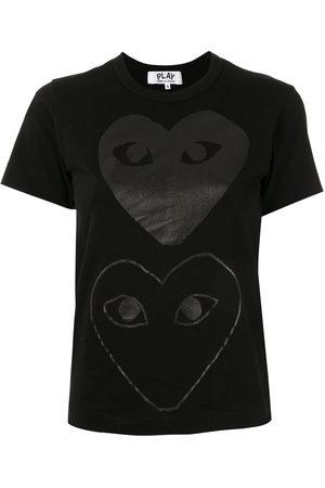 Comme des Garçons Women Short Sleeve - Logo print T-shirt