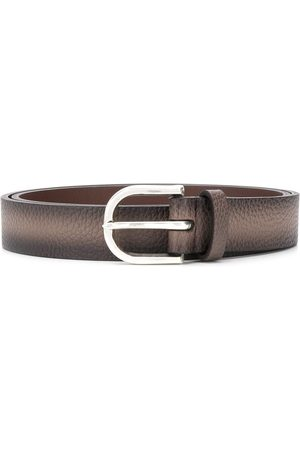 Orciani Pebbled leather belt