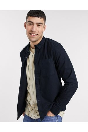 River Island Long sleeve regular fit oxford shirt in